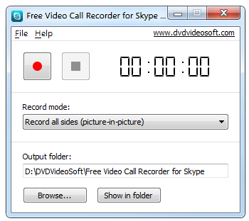 Free Video Call Recorder for Skype icon